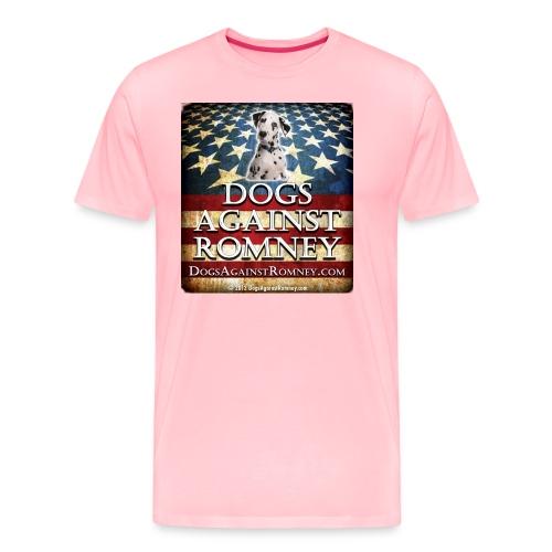 dolmationdogsagainstromneyflag - Men's Premium T-Shirt