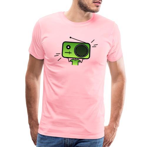 MusiqHead Green Ver 2 - Men's Premium T-Shirt