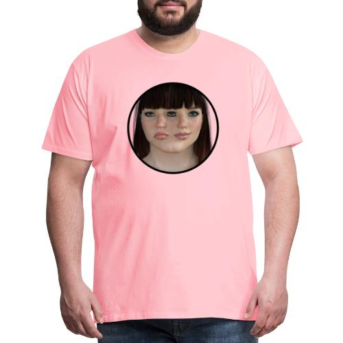 Two-faced women - Men's Premium T-Shirt