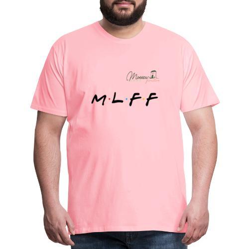 MLFF with logo - Men's Premium T-Shirt