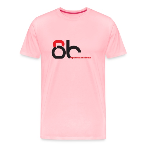 Logo Optimized Body - Men's Premium T-Shirt
