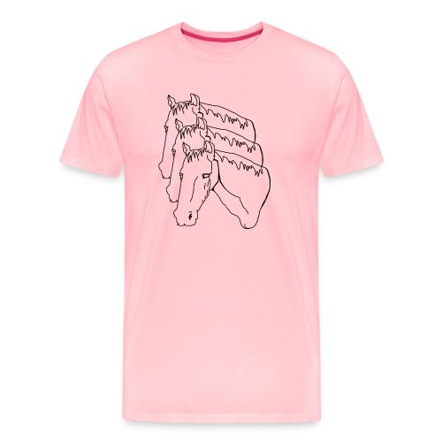 horsey pants - Men's Premium T-Shirt