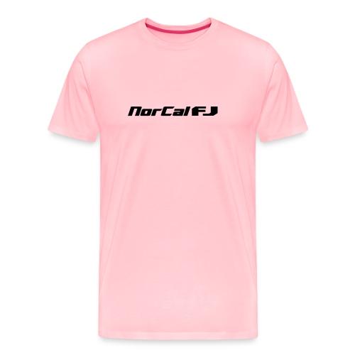 norcalfj textonly - Men's Premium T-Shirt