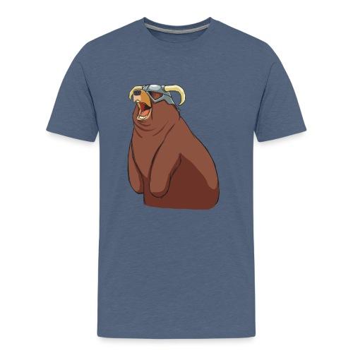 happy dovah nologo png - Men's Premium T-Shirt