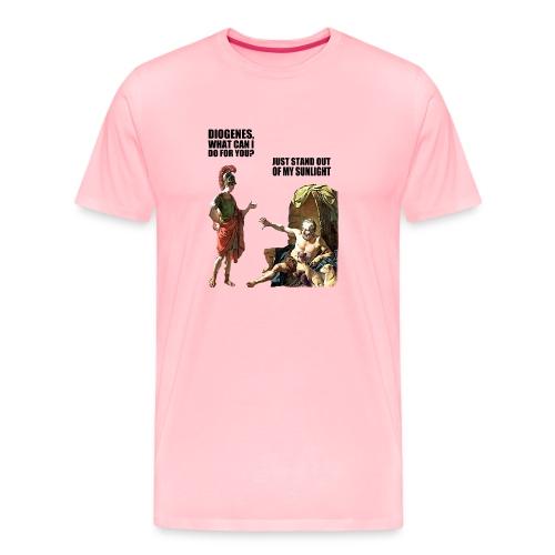 hlalexander and diogene2 black - Men's Premium T-Shirt