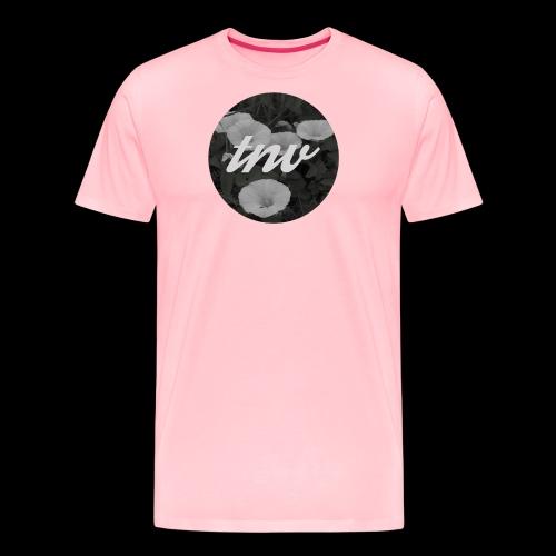 TNV X FLOWERS png - Men's Premium T-Shirt