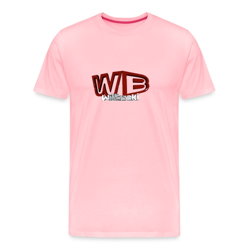wb logo3d png - Men's Premium T-Shirt