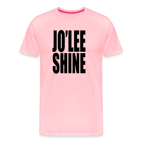 JO'LEE SHINE WOMEN'S T SHIRT WHT/PNK - Men's Premium T-Shirt