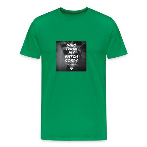 Patch Cords - Men's Premium T-Shirt