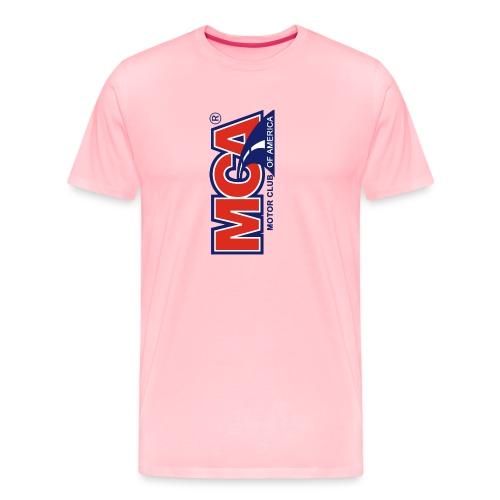 MCA Logo Iphone png - Men's Premium T-Shirt