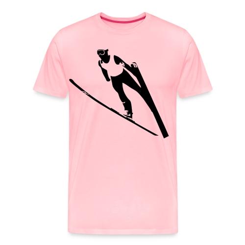 Ski Jumper - Men's Premium T-Shirt