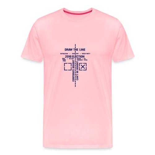 2016_Draw_The_Line_noSten - Men's Premium T-Shirt