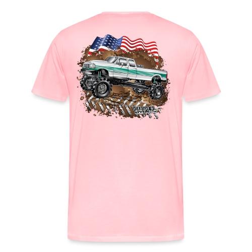 Ford Bronco F350 Mega Truck - Men's Premium T-Shirt