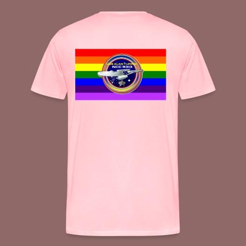 USS Alan Turing Cinch Bag - Men's Premium T-Shirt