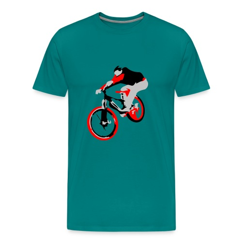 Mountain Bike Shirt - Ollie - Long Sleeve - Men's Premium T-Shirt