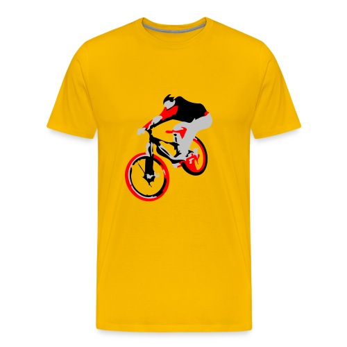 Mountain Bike Shirt - Ollie - Long Sleeve - Men's Premium T-Shirt