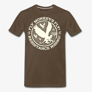 Johnny Cirucci Flying Monkey Squad: emblem 02 - Men's Premium T-Shirt