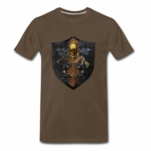 Military Shield of Arms - Men's Premium T-Shirt
