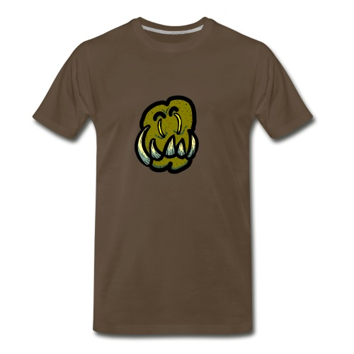 Tusked Green-Skin - Men's Premium T-Shirt