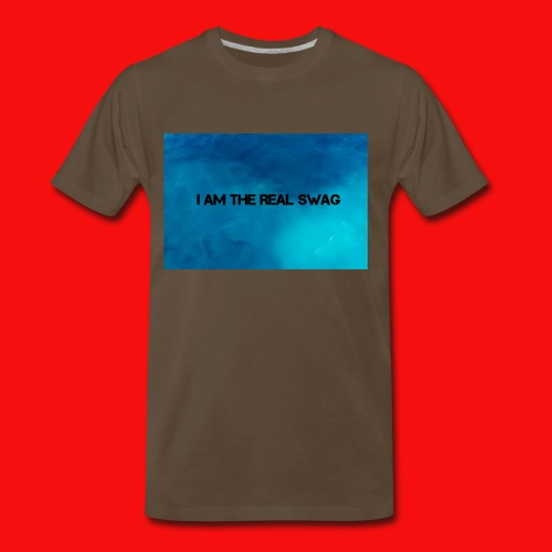 I AM THE REAL SWAG - Men's Premium T-Shirt