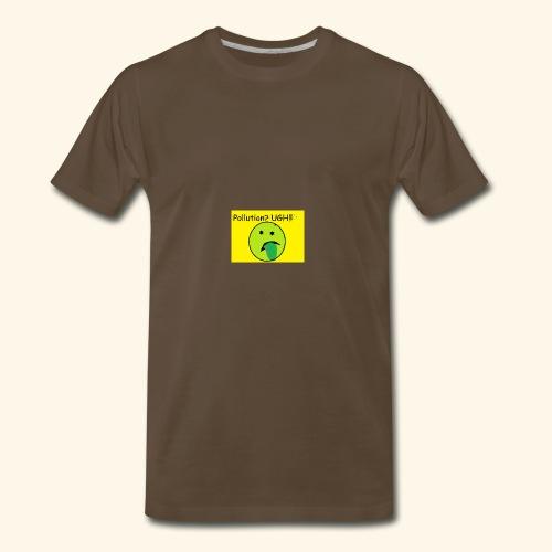 Pollution - Men's Premium T-Shirt