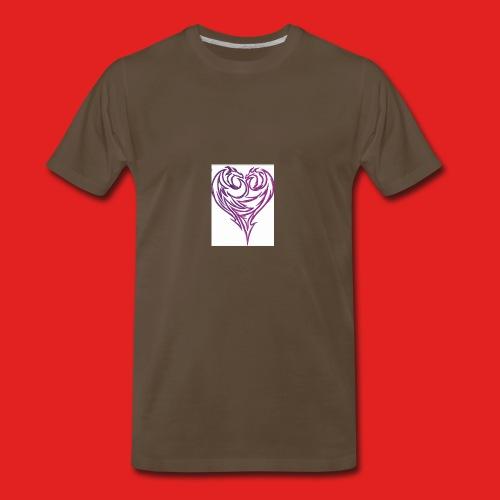 Jikjak heart - Men's Premium T-Shirt