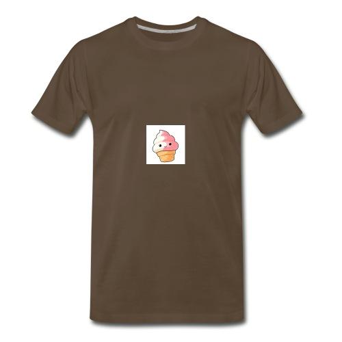 Cute Kawaii ice cream - Men's Premium T-Shirt