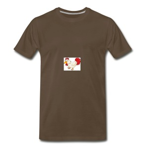 chicken the fredy - Men's Premium T-Shirt