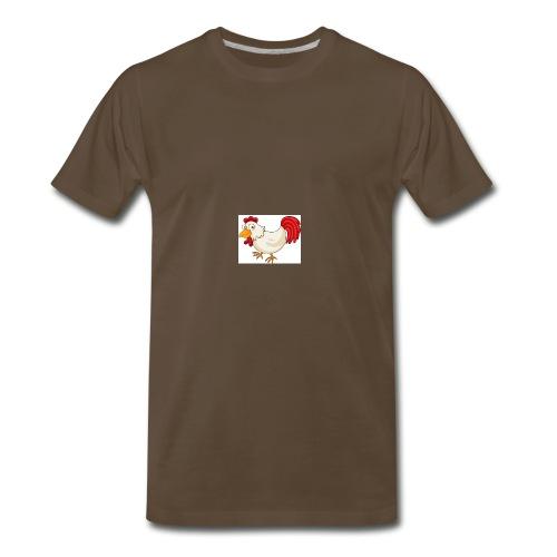 chicken the fredy - Men's Premium T-Shirt