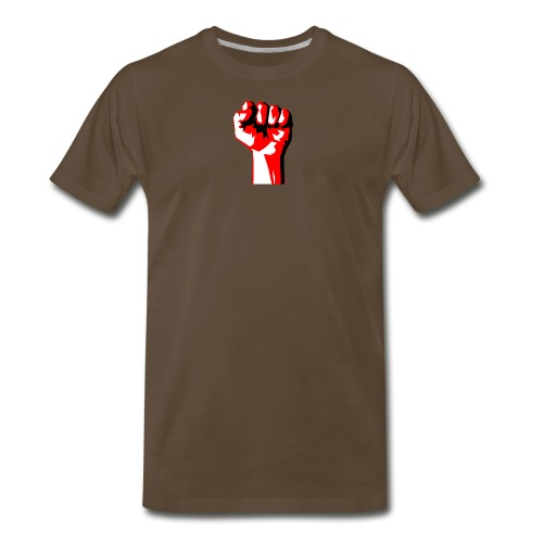 REEVVOLT fist MERCH - Men's Premium T-Shirt