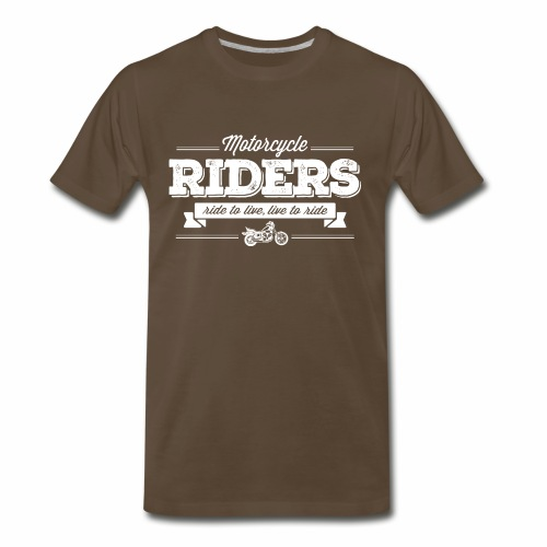 MotorCycle-Riders - Men's Premium T-Shirt