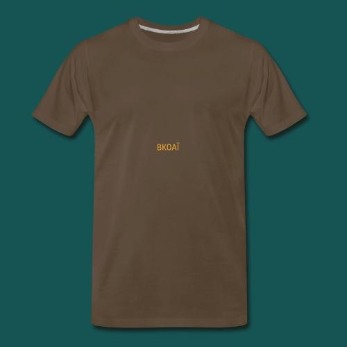 BK0AI - Orange Logo - Men's Premium T-Shirt