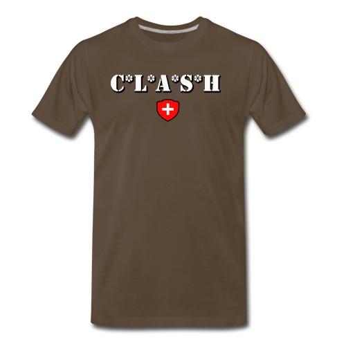 Clash Mash Cross - Men's Premium T-Shirt