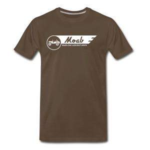 Barlow Adventures Moab Logo - Men's Premium T-Shirt