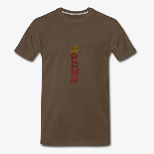 Vertical BPCMR Binary Logo - Men's Premium T-Shirt
