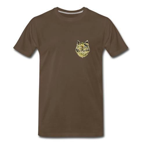 the camo wolf merch - Men's Premium T-Shirt