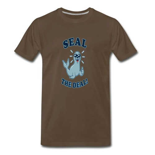 Seal the deal - Men's Premium T-Shirt