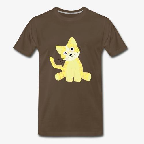 cute kitty - Men's Premium T-Shirt