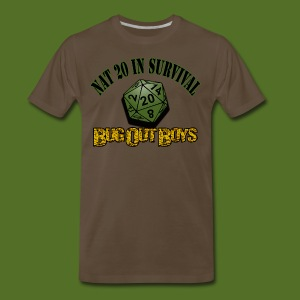 Natural 20 in Survival - Men's Premium T-Shirt