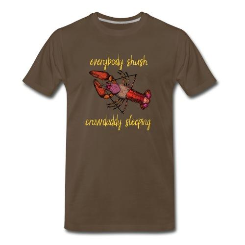 Crawdaddy Sleeping - Men's Premium T-Shirt