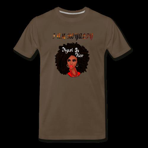 i am royalty design - Men's Premium T-Shirt