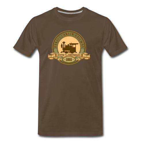 Bandit Canyon Railway - Men's Premium T-Shirt