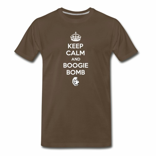 Keep Calm and Boogie Bomb (Fort-nite Inspired) - Men's Premium T-Shirt