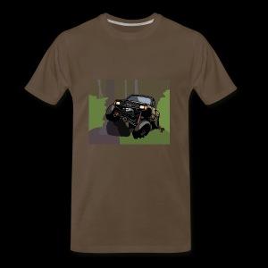 The Jalopy Rectangle - Men's Premium T-Shirt