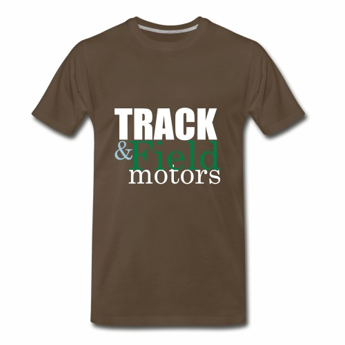 Track and Field Logo - Men's Premium T-Shirt
