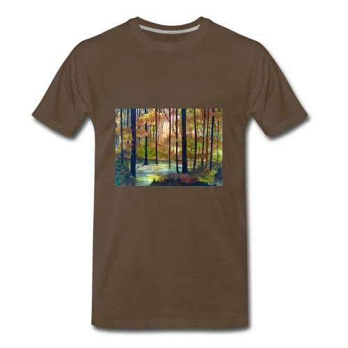 AUTUMN EVENING - Men's Premium T-Shirt