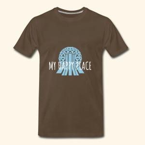My Happy Place- Epcot - Men's Premium T-Shirt