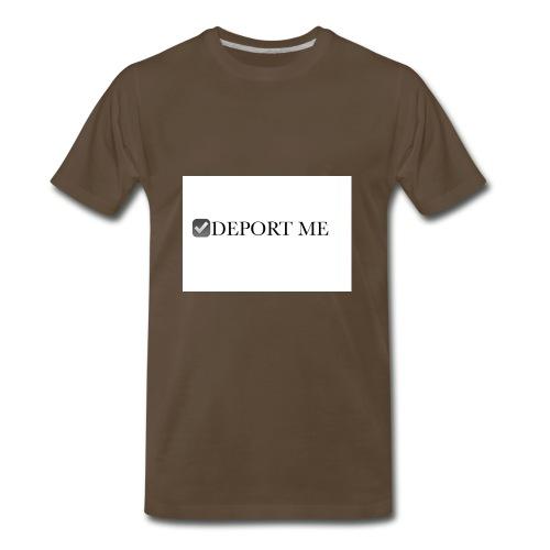 I didn't vote for him - Men's Premium T-Shirt