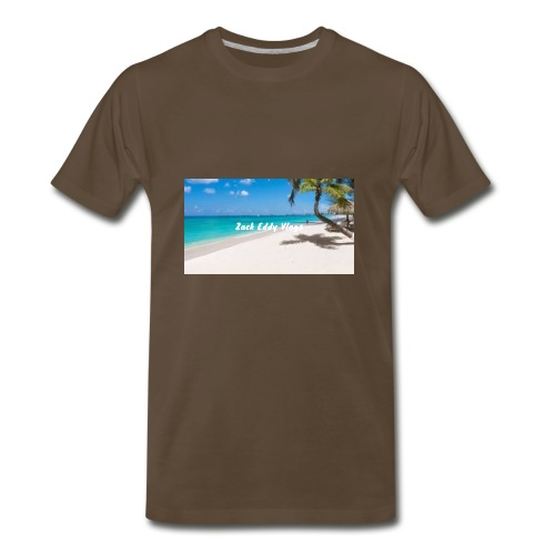 ZACK EDDY VLOGS - Men's Premium T-Shirt