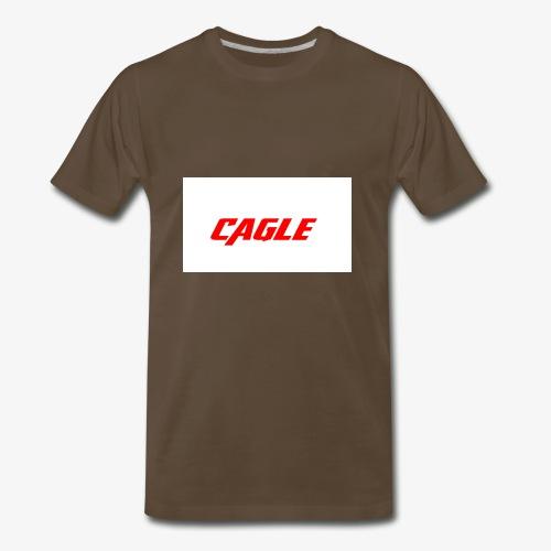 simple cagle merch - Men's Premium T-Shirt